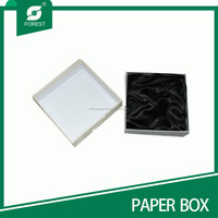2mm thickness greyboard quality gift paper box for watch