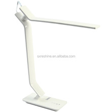 7W White Fashionable USB Charging Foldable Touch Sensitive LED Table Lamp