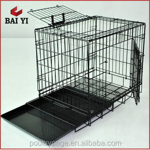 BAIYI Durable and Cheap Exporting Standard Stainless Steel Dog Cage For Sale