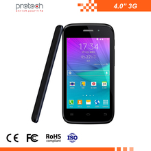 Cheapest factory price RAM 521MB ROM 4G 4.0 inch smart phone SC7731 Quad-core 4 inch 3G smartphone wifi/BT/FM