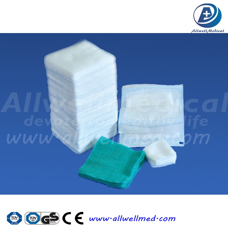 Medical non woven sponges/swabs