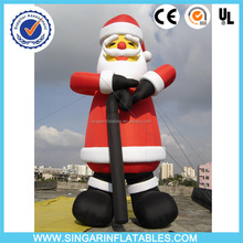 Giant inflatable christmas santa,inflatable christmas outfit,decoration in christmas