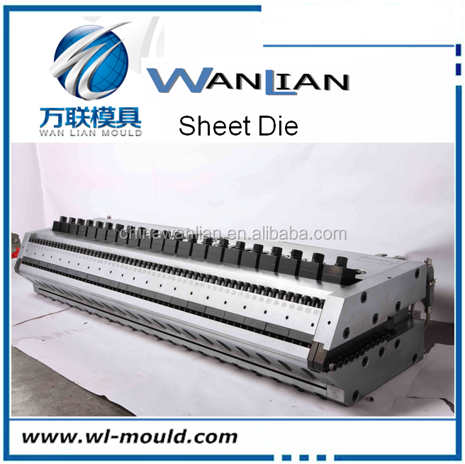Plastic Extrusion Sheet t-die for inflatable toy die head t-mould