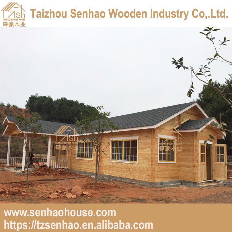High quality china supplier wooden building for canteen