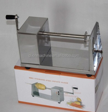 Manual Stainless Steel Twisted Potato Slicer / Spiral Vegetable Cutter