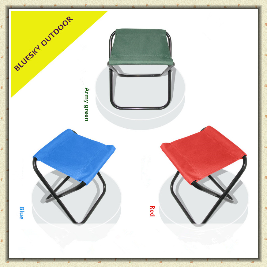 Outdoor Portable Hiking Seat Folding Stool Fishing Chair