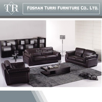 Modern Interior Brown Genuine Leather Sofa Extraordinary Touch Sofa