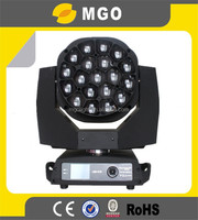professional led moving light disco light equipment 19*15w Moving LED Wash Bee eye studio lighting