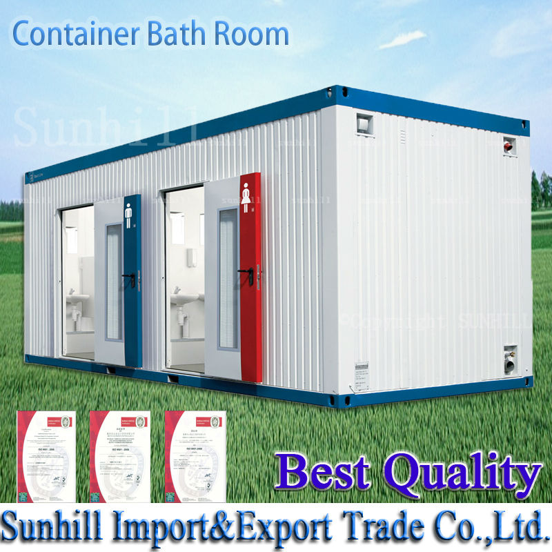 Happy New Year! 20ft&40ft Sanitary Container/Container Toilet