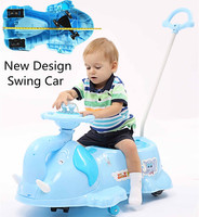 Food Grade PP Plastic Plasma Twist Car Mobile Bicycles Mini Cooper Toy