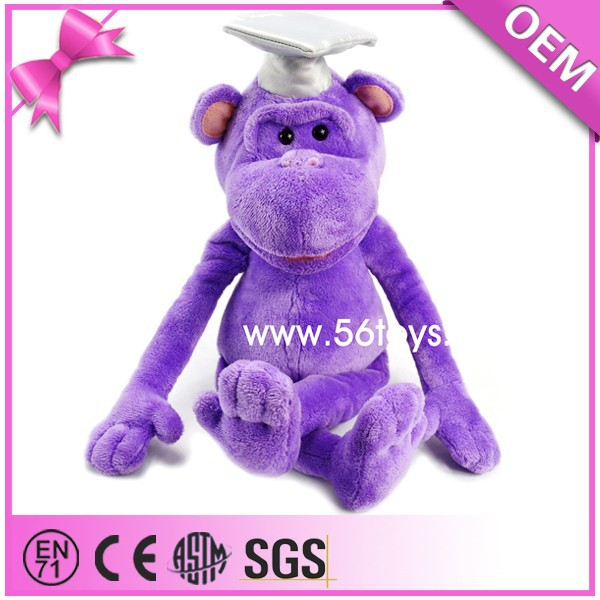 Factory Price Supply OF Gift Or Mascot Plush Doctor Monkey Toy