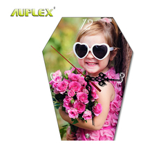 Personalized Sublimation DIY Decorative Cool Wooden Wall MDF Clock For Bedroom