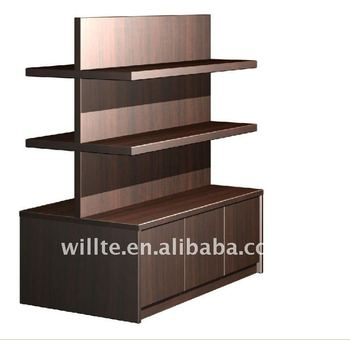Double side clothing display stand