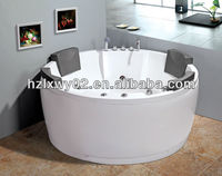 Thermostat system big round massage bathtub