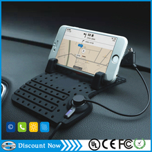 Universal silicone Mount Car Holder For Mobile Phone PDA GPS MP3 MP4