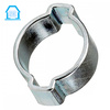 Manufacturer Carbon Steel Galvanized Double Ear Hose Clamp