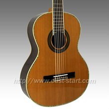 ESC-306A Deluex Handmade Solid Classical Indian Rosewood Guitar