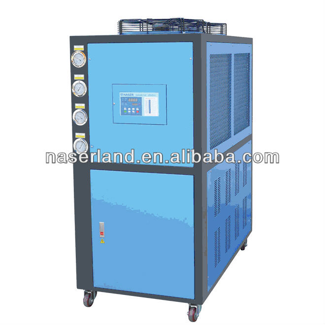 5 ton Small Type Cabinet Air Cooled Chiller With Heater Pump
