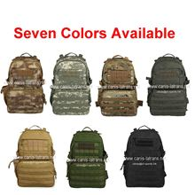 7 colors CAMO hunting multicam military backpack combat sling bag apparel tactical gear trekking pack satchel