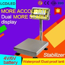 movable platform 400kg weighing scales