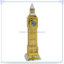 Travel Souvenir Big Ben Gold Hollow Royal Tower Clocks