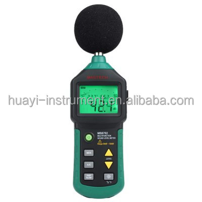 MS6702 Digital Sound Level Meter Decibel Noise Meter 30dB to 130dB with Clock and Calendar Function
