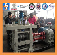 new technology machine leaf spring eye rolling machine