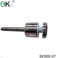 Stainless steel glass handrail fitting standoff pin fastener