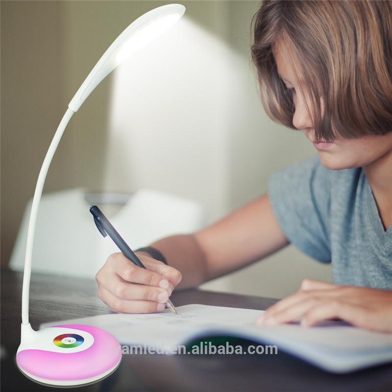 Clamp Reading Lamp gun table lamp Eco Friendly LED Bedside Reading Lamp
