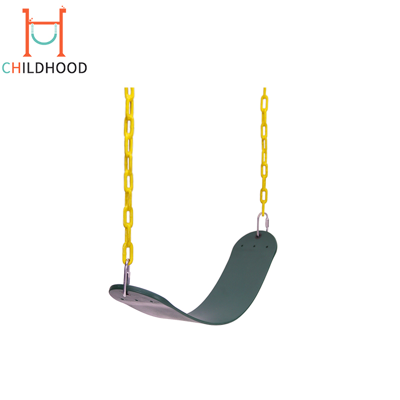 Green Kids Garden Swing Set EVA Outdoor Flexible Children Swing
