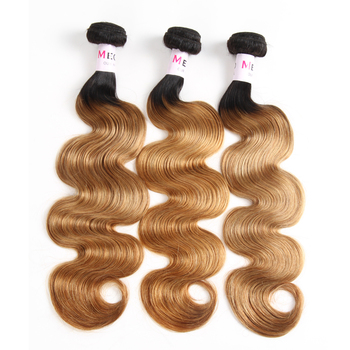 Natural Short Golden Brown Virgin Body Twist Wave Styles Peruvian Hair Weaving