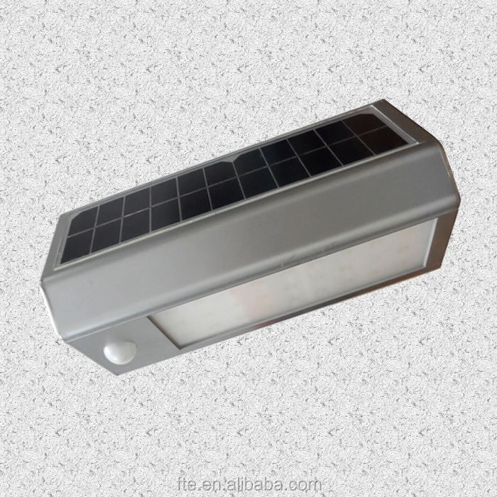 aluminum solar LED motion sensor light sensor emergency light