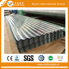 high quality color coated galvanized corrugated sheet metal