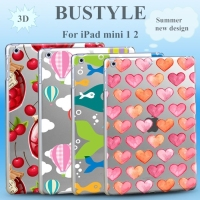 Summer New Design Protector Cover Case for Apple iPad air mini 1 2 3D OEM Custom Design High Quality Soft Slim tpu Case