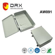 340*235*115mm Hot sale Die Cast Aluminum Hinged Waterproof Control Box for electronic project