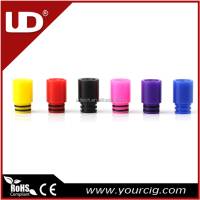 Colorful vaping accessories 510 drip tip UD delrin drip tip