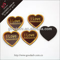 Wholesale custom heart shaped epoxy resin fridge magnet