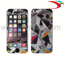 Customized design mobile skin cover for promotional gift