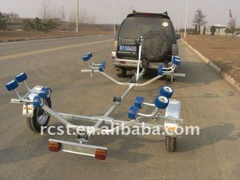 light weight folding boat trailers