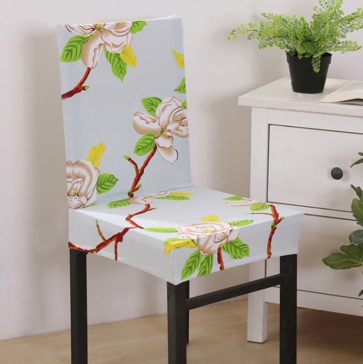 Elastic Dining banquet chair chair cover material
