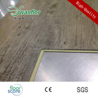 6MM Waterproof WPC Cork Flooring UV Coating Super Wear Resistant