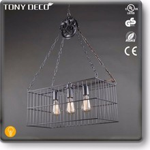 BAA60681 Metal Industrial Chain Wall Hanging Chandelier From China