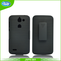 New design belt clip holster rugged case for huawei ascend g730