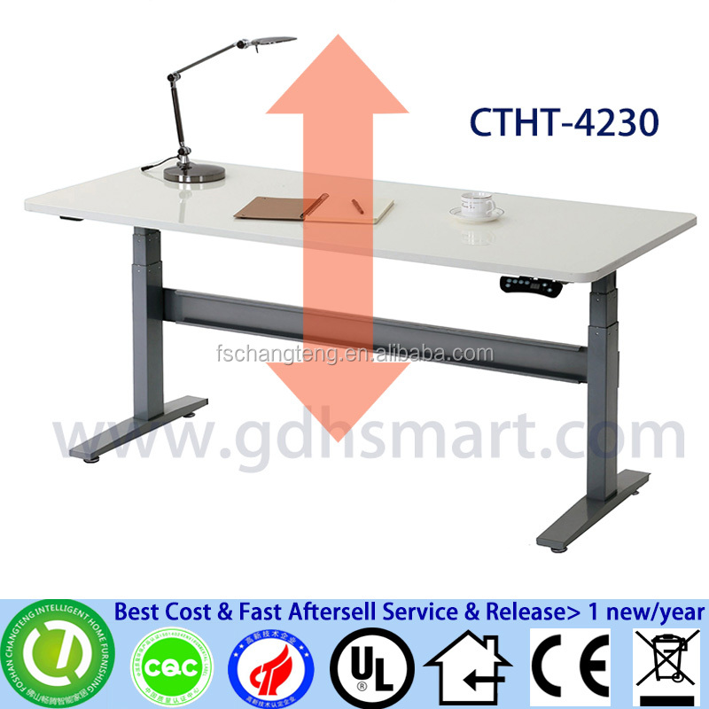 high end office furniture office table design height adjustable desktop computer table