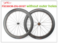 High profile !! 700C road bicycle wheelset 60mm depth 25mm width tubeless , ED hubs and Sapim aero spokes , super performance