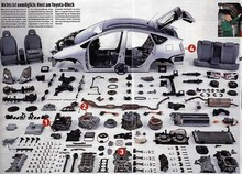 Parts for Korean Branded Car
