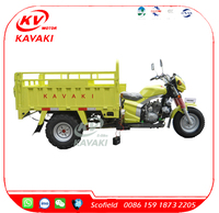 KAVAKI 200cc Big Tire 3 Wheel Trike Car For Sale Bicycle Adult Tricycle