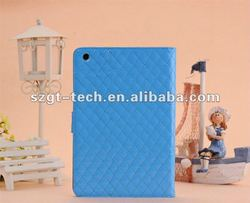 Colorful leather cases for iPad Mini Paypal accept!