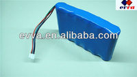 3s2p 18650 10.8V li-ion battery pack (with smBus)
