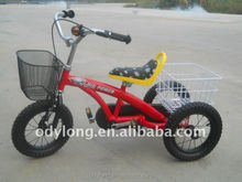 latest hot sell popular kids plastic tricycle with handle/children tricycl TR12-12